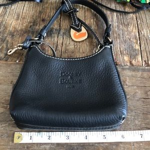 Rooney & Bourke Small Black Leather Bag
